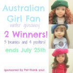 australian girl doll fan giveaway